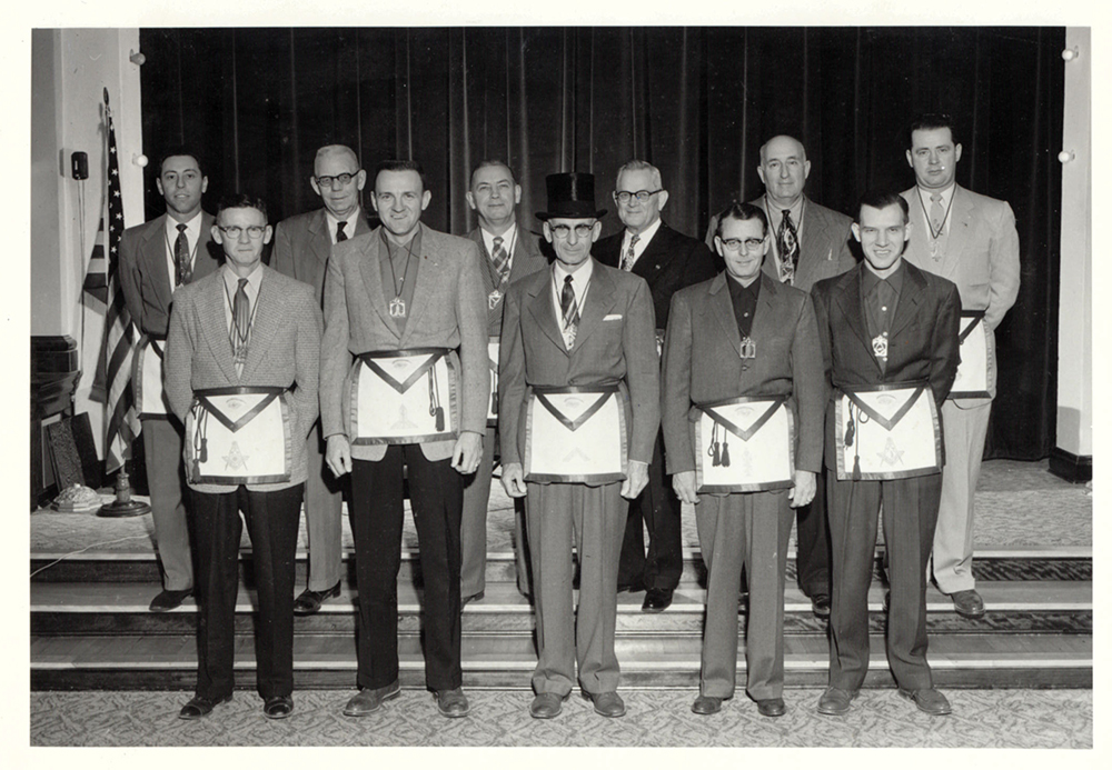 1955 - Evening Shade Lodge No. 312