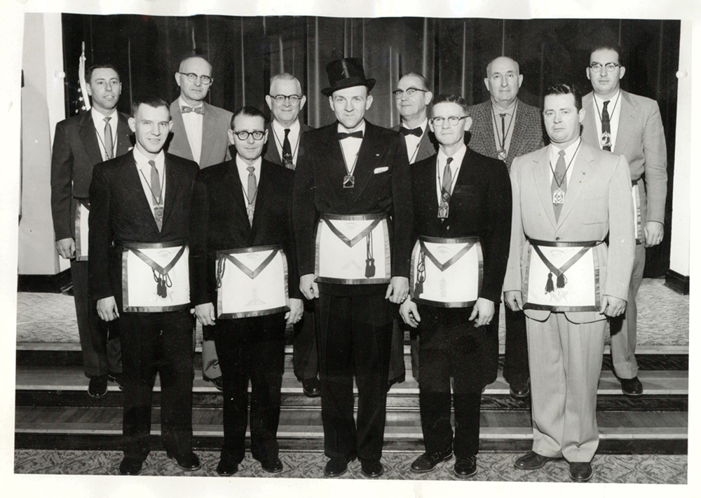 1956 - Evening Shade Lodge No. 312