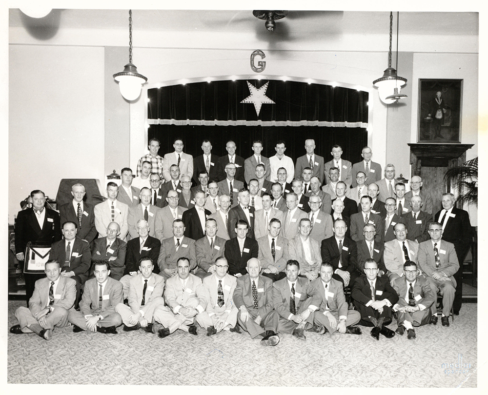 Class for Temple Council #37 - October 12, 1955