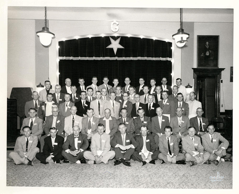 Fall Class of Clay Chapter #112 - September 29, 1955